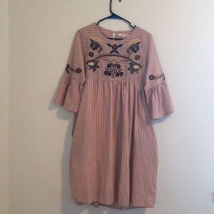 Embroidered Boutique Dress